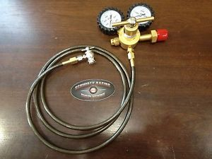 Shock Nitrogen Regulator 6' Stainless Hose No Loss Chuck Fill-Kit Tool 400 Fox