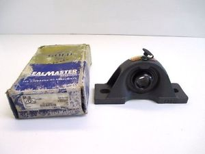 "SEALMASTER SP-16 PILLOW BLOCK BEARING 1""  2-BOLT MANUFACTURING CONSTRUCTION"