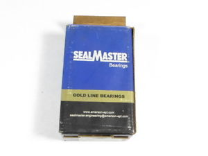 "Sealmaster FB-14 Flanged Ball Bearing 3-Bolt 7/8"" !  !"