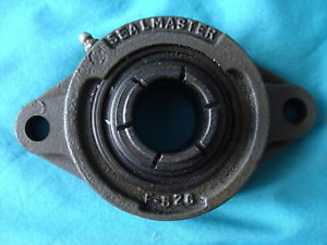 SEALMASTER TWO BOLT FLANGE SKWEZLOC BEARING FT-20TC