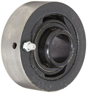 Sealmaster SC-205 Ball Bearing Cartridge Unit, Setscrew Locking Collar, Felt