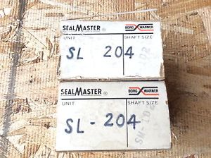 2-SealMaster-BEARING, #SL-204  ,comes with 30 DAY WARRANTY, FREE SHIPPING