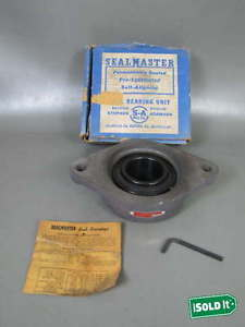 """SEALMASTER F530 SFT-35 MOUNTED BEARING PRE-LUBRICATED SHAFT SZ 2-3/16"""" Bore"""