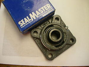 "SEALMASTER SF-14  4 Bolt Flange Mounted Ball Bearing, 7/8"" Bore"