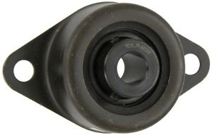 Sealmaster SRF-12 Standard-Duty Flange Unit, 2 Bolt, Rubber Mounted, Felt Seals,