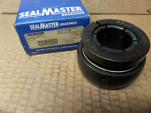 "SealMaster Gold Line Ball Bearing Insert 3-17T 317T 1-7/16"" Bore New"