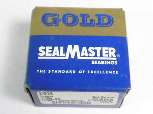 "Sealmaster 2-014 Ball Bearing Insert 7/8"" !  1"