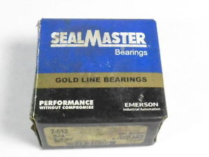 "Sealmaster 2-012 Ball Bearing Insert 3/4"" !  !"