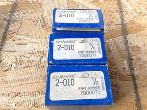 3-SealMaster ,Bearings, Cat#2-010 ,comes w/30day warranty, free shipping