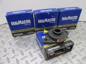 "LOT OF 4 SEAL MASTER MODEL SFT-12 3/4"" CAPACITY PILLOW BLOCK BEARINGS (A,02)"
