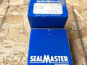 2-SealMaster ,Bearings, Cat#2-13comes w/30day warranty, free shipping