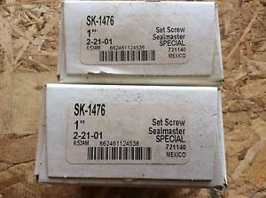2-SealMaster   Bearings, Cat# SK-1476 ,comes w/30day warranty, free shipping