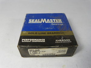 Sealmaster SFC-20R 4Bolt Flanged Bearing 1 1/4Inch Bore Sealed in Pkg.  !  !