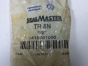 Seal Master TR8N 1/2×5/8 IN Bore Right Hand Threaded Bearing !  !