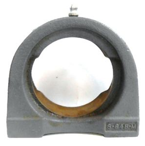 SEAL MASTER, TAPPED PILLOWBLOCK BEARING HOUSING, TB-23T, S-648-M, CAST IRON