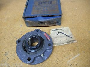 "Seal Master FC1507 4 Bolt Flange With 2-111 Bearing 1-11/16"" ID Used"
