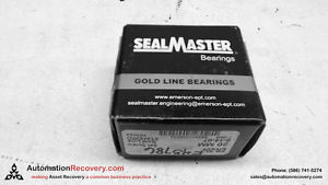 SEALMASTER ER-204 BEARING INSERT W/SET SCREW 20MM ID GOLD LINE,  #108686