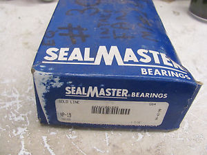 SEALMASTER NP-19 PILLOW BLOCK BEARING