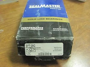SEALMASTER SFT-28C BALL BEARING FLANGE UNIT