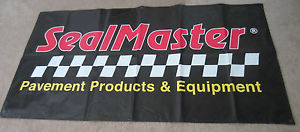 Sealmaster Pavement Products & Equipment Racing Banner