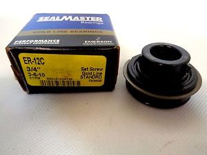 SEALMASTER GOLD LINE ER-12C BALL INSERT BEARING
