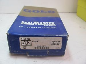 SEALMASTER NP-22C GOLD LINE PILLOW BLOCK BEARING