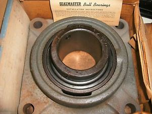 "SEALMASTER MSF-40 MSF40 2-1/2"" FLANGE MOUNT BALL BEARING"