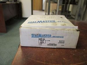 "Sealmaster Gold Line Bearing  MSF-24 Size: 1 1/2"" New Surplus"