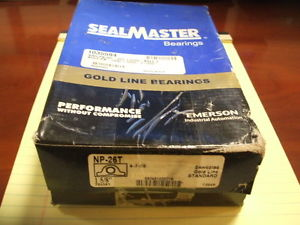 SEALMASTER BEARINGS NP-26T  1 5/8""