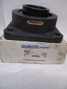 "SEALMASTER 4-BOLT FLANGE BEARING MSF-48 MSF48 3"" BORE"