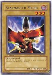 2004 Yu-Gi-Oh Ancient Sanctuary 1st Edition #AST3 Sealmaster Meisei R – NM-MT