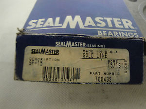 IN BOX SEALMASTER SF-15 FLANGE BEARING 4 BOLT