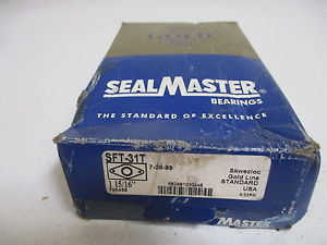 "SEALMASTER SFT-31T 1-15/16"" FLANGE BEARING * IN A BOX*"