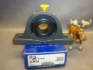 Gold Sealmaster Bearings NP-16 Pillow Block Bearings Bore 1""