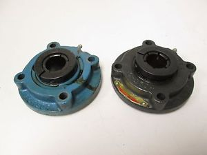 "Lot of 2 Sealmaster MFC-16T Flange Mounted Bearing 1"" Bore 3 5/8"" Bolt Circle"