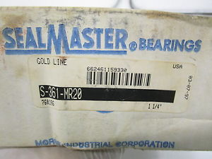 SEAL MASTER S-361-MR20 MOUNTED BEARING * IN BOX*