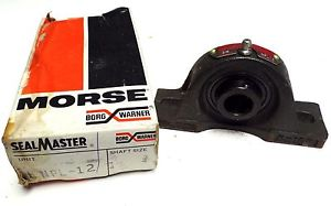 SEAL MASTER PILLOW BLOCK BEARING NPL-12 3/4'' NPL12 MORSE