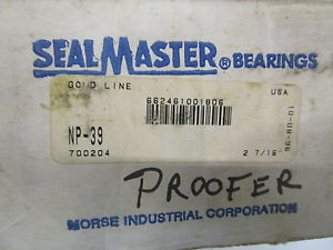 SEAL MASTER NP-39 PILLOW BLOCK BALL BEARING 2-7/16 * IN BOX*