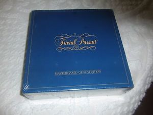 Game Trivial Pursuit Original Factory Seal Master Game Genus Edition