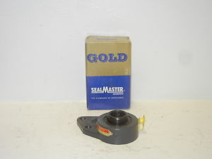 "SEALMASTER FB-16  1"" GOLD LINE SET SCREW FLANGE BEARING UNIT 701237 FB16"
