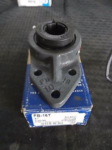 "Sealmaster, FB- 16T, 1"" Bore, Flange-Mount Ball Bearing Unit"