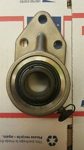 "Seal master FB -16C CR 1"" stainless steel housing flange bearing 3 bolt"