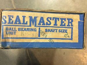 "Sealmaster Pillow Block Bearing NP-32 2"" Shaft Size"