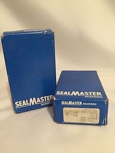 "LOT OF 2 BALL BEARING SEALMASTER NP-12 3/4"" STANDARD GOLDMINE  OLD STOCK"