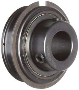 Sealmaster ER-25 Cylindrical OD Bearing, Setscrew Locking Collar, Light Contact