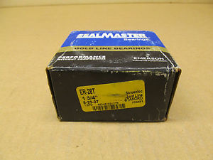 "1 NIB SEALMASTER ER-28T ER28T BALL BEARING INSERT 1-3/4"" CONCENTRIC COLLAR"