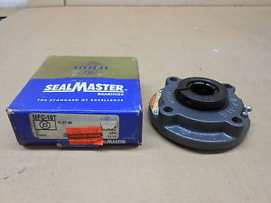 "1 NIB SEALMASTER MFC-16T MFC16T 4 BOLT CARTRIDGE FLANGE 1"" BORE LOCKING COLLAR"