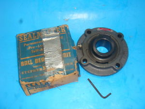 1  SEAL MASTER MFC-27, MFC27, Ball Bearing Flange Unit,  IN BOX