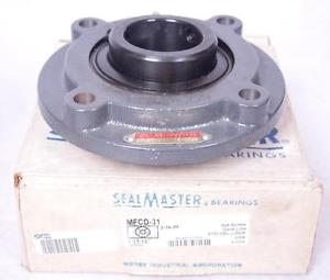 SealMaster Piloted Flange Mount Ball Bearing 4 Bolt Flange 1-15/16 MFCD-31