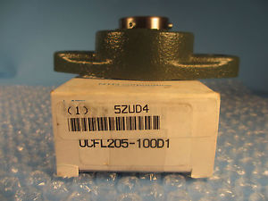 Sealmaster UCFL205100 D1,  UCFL205-100, 2-Bolt Flange Unit 1""